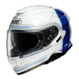 Shoei GT Air 2 Crossbar TC-2 White Blue Helmet